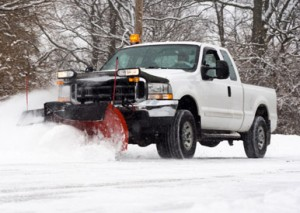 Snow plow services Markham